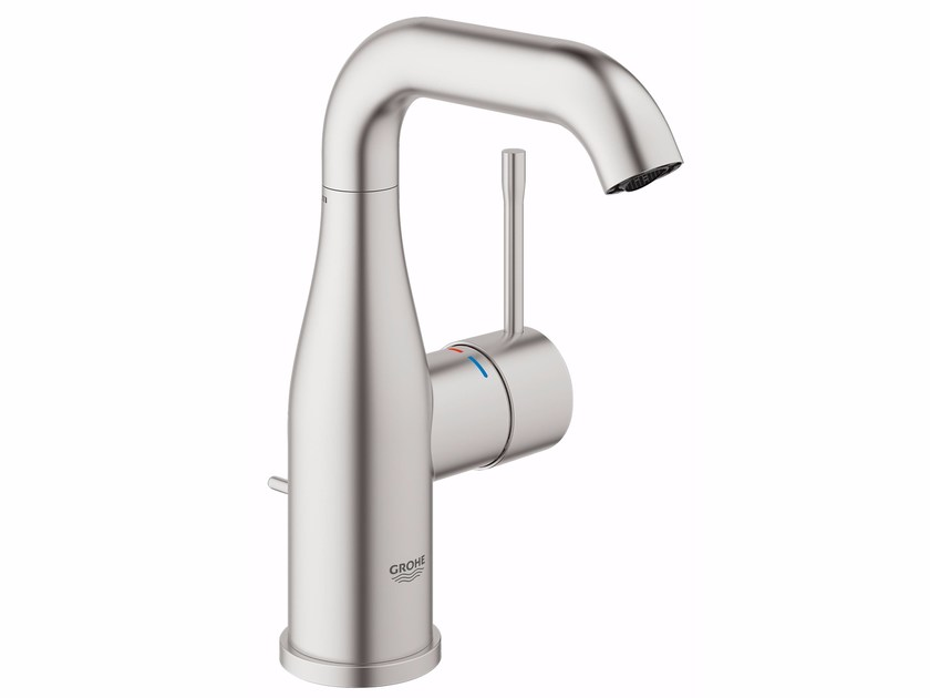 Single handle washbasin mixer with pop up waste ESSENCE NEW | Countertop washbasin mixer by Grohe
