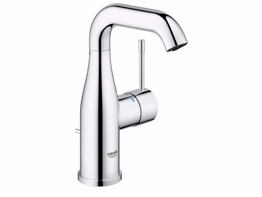Countertop single handle washbasin mixer with adjustable spout ESSENCE NEW - SIZE M 23462_ | Washbasin mixer by Grohe