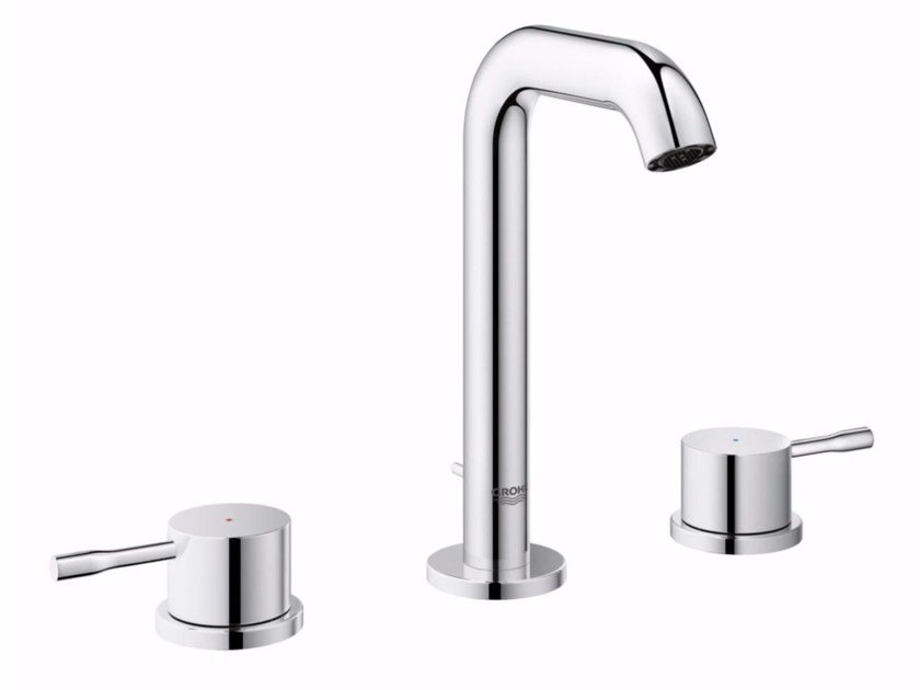 3 hole countertop washbasin tap ESSENCE NEW - SIZE M | 3 hole washbasin tap by Grohe