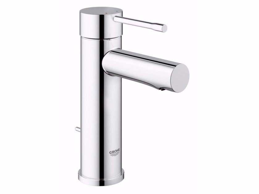 Countertop single handle washbasin mixer with temperature limiter ESSENCE NEW - SIZE S by Grohe