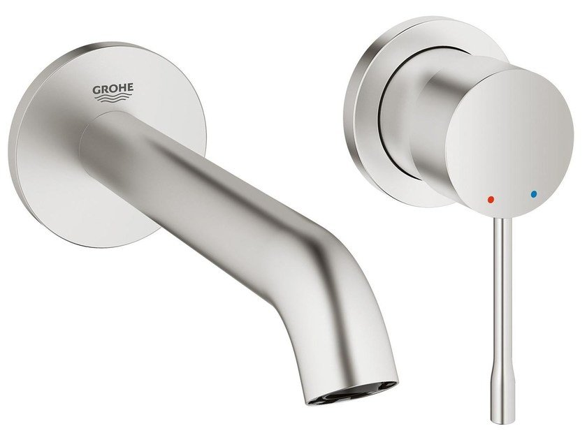 2 hole wall-mounted washbasin mixer ESSENCE NEW - SIZE S | Wall-mounted washbasin mixer by Grohe