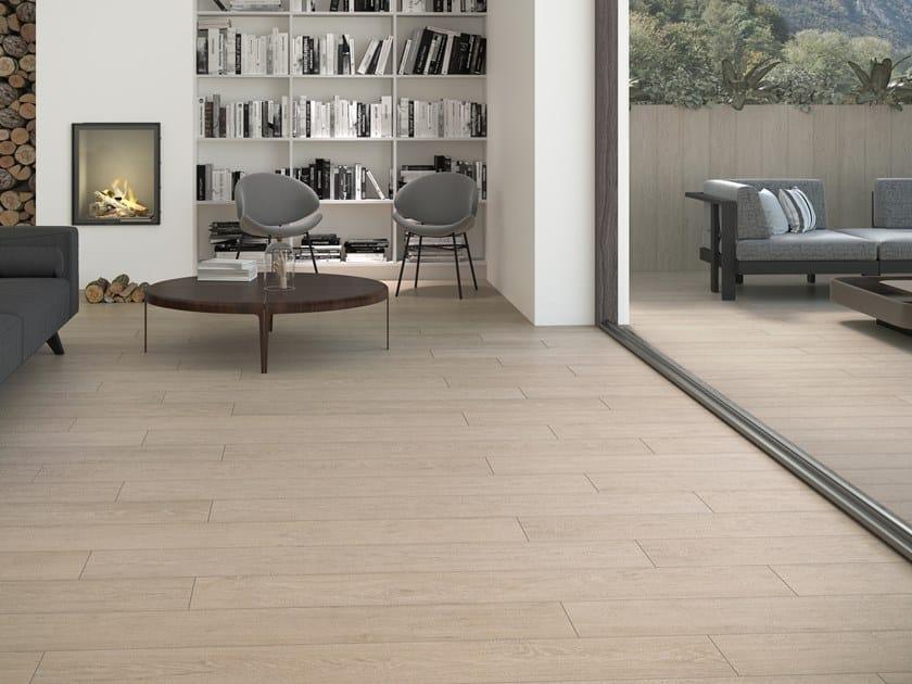 Indoor/outdoor wall/floor tiles with wood effect ESSENCE by PERONDA