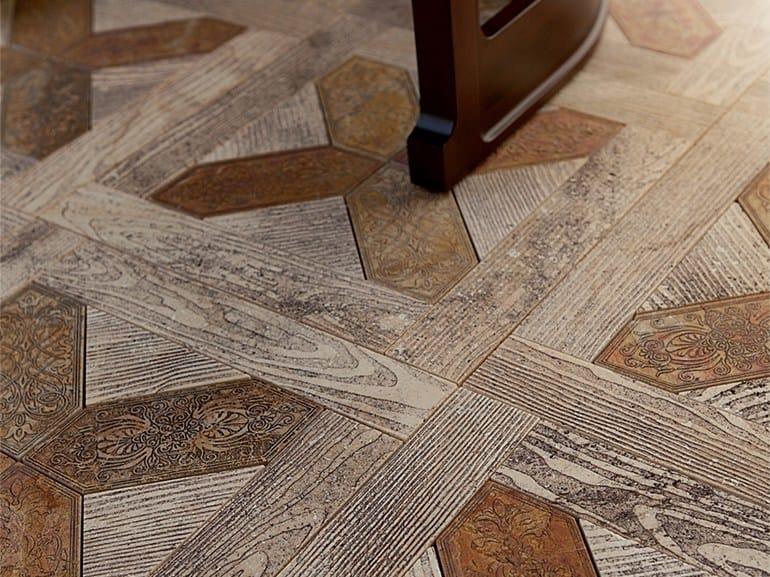 Pavimento de m rmol imitaci n madera para interiores y - Pavimentos de marmol ...