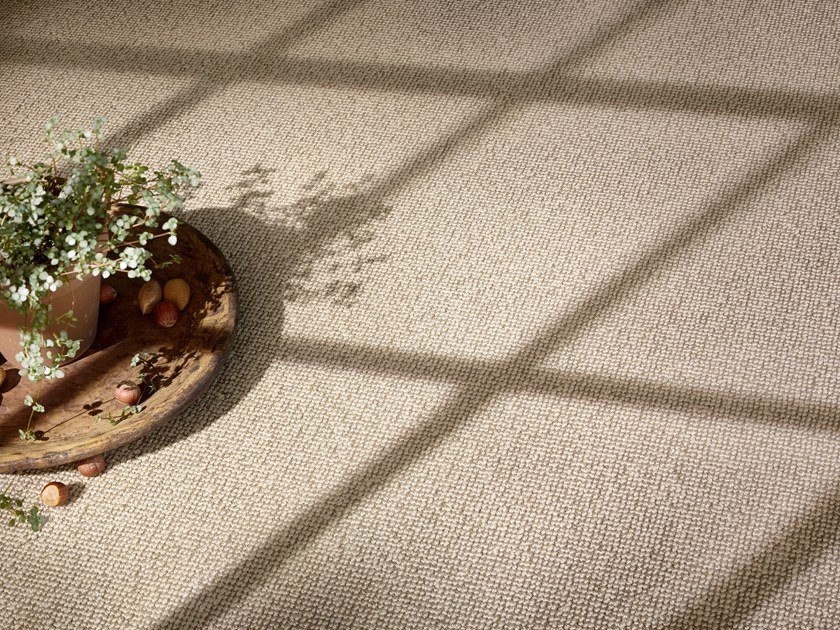 Solid-color polyamide carpeting ESSENTIAL 1008 by Vorwerk Teppichwerke
