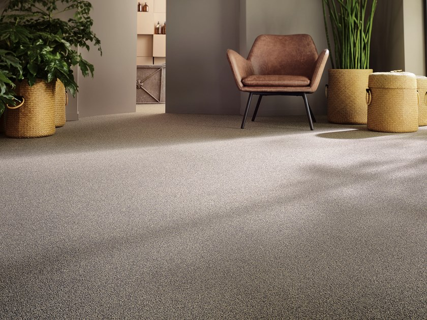 Solid-color polyamide carpeting ESSENTIAL 1032 by Vorwerk Teppichwerke