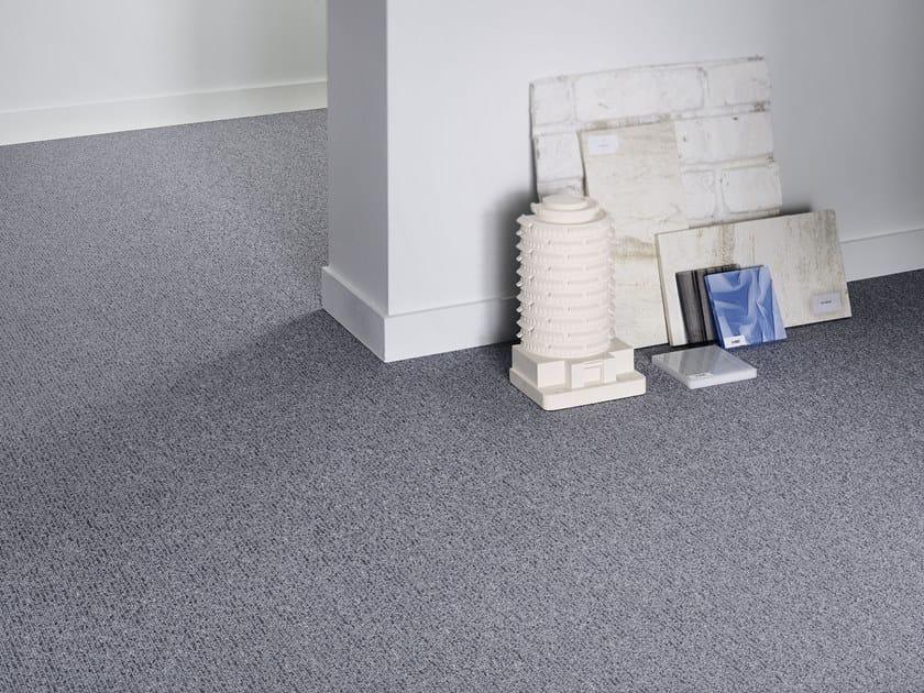 Solid-color polyamide carpeting ESSENTIAL 1036 by Vorwerk Teppichwerke