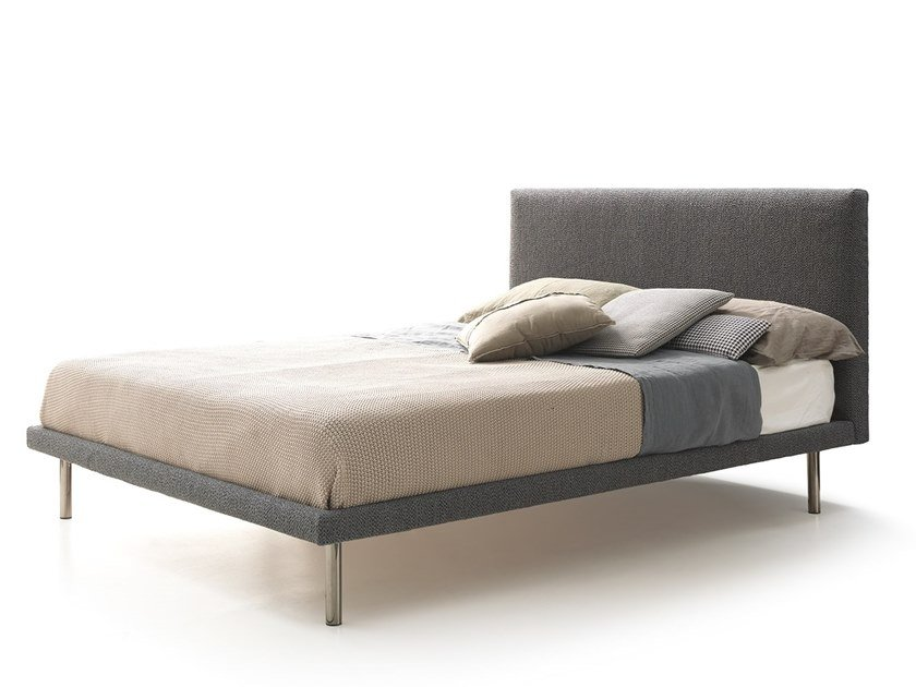 Fabric bed ESSENTIAL by VALENTINI
