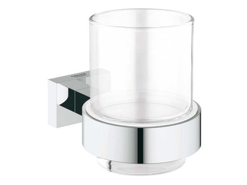 Toothbrush holder ESSENTIALS CUBE | Toothbrush holder by Grohe