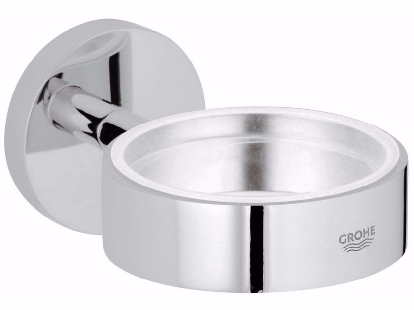 Wall-mounted soap dish ESSENTIALS | Wall-mounted soap dish by Grohe