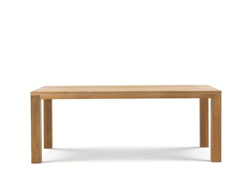 Rectangular teak garden table ESSENZA | Garden table by Ethimo