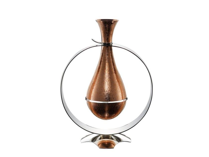 Copper and bronze vase ESSENZA by ZANETTO