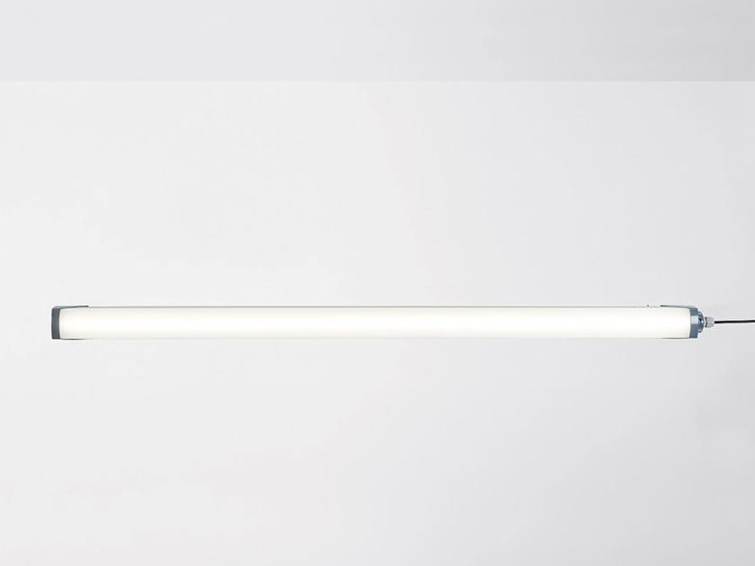 Lampada da soffitto per esterno a LED in alluminio verniciato a polvere ESTANCA by HER