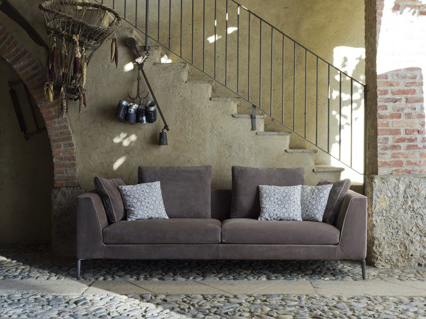 3 seater fabric sofa ESTELLE | 3 seater sofa by Flexstyle