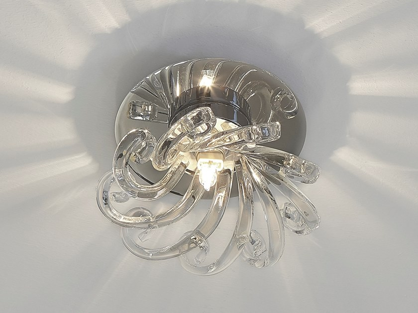 Direct light crystal ceiling lamp ESTRELLA C1 by ILFARI
