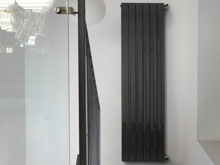 Extruded aluminium decorative radiator ETA by K8 Radiatori