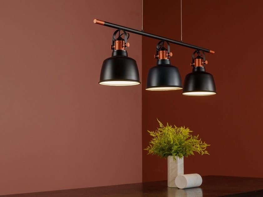 Aluminium pendant lamp ETEL (A3) | Aluminium pendant lamp by MUMOON