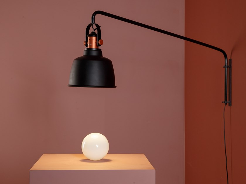 Wall lamp with fixed arm ETEL | Wall lamp with fixed arm by MUMOON