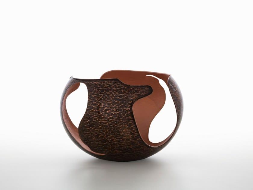 Copper centerpiece ETERICA by ZANETTO