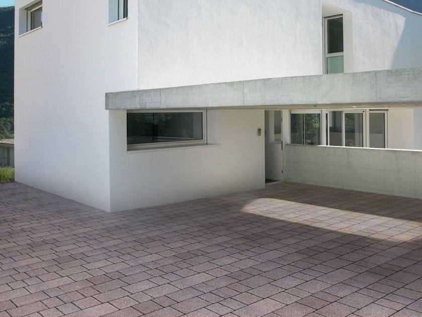 Cement outdoor floor tiles ETERNITY by FAVARO1