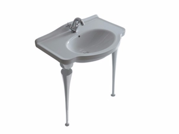 Console washbasin ETHOS 75 | Console washbasin by GALASSIA