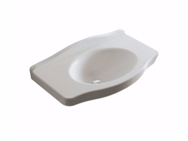 Ceramic handrinse basin ETHOS | Handrinse basin by GALASSIA