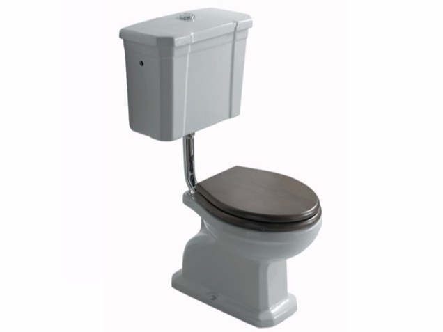 Ceramic toilet with external cistern ETHOS | Toilet with external cistern by GALASSIA