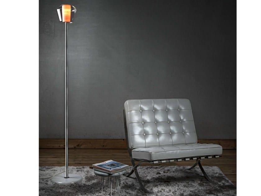 Blown glass floor lamp ETICA | Floor lamp by ILIDE