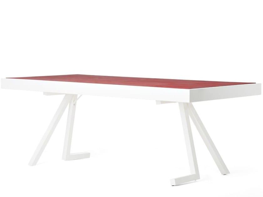 Rectangular table ETOILE by Officine Tamborrino
