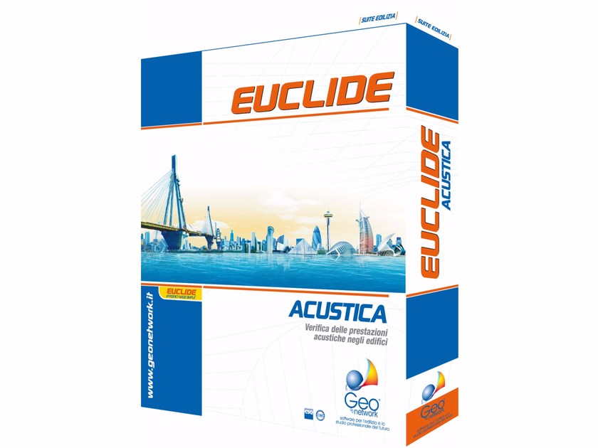 Acoustic insulation for buildings EUCLIDE ACUSTICA EDIFICI by GEO NETWORK