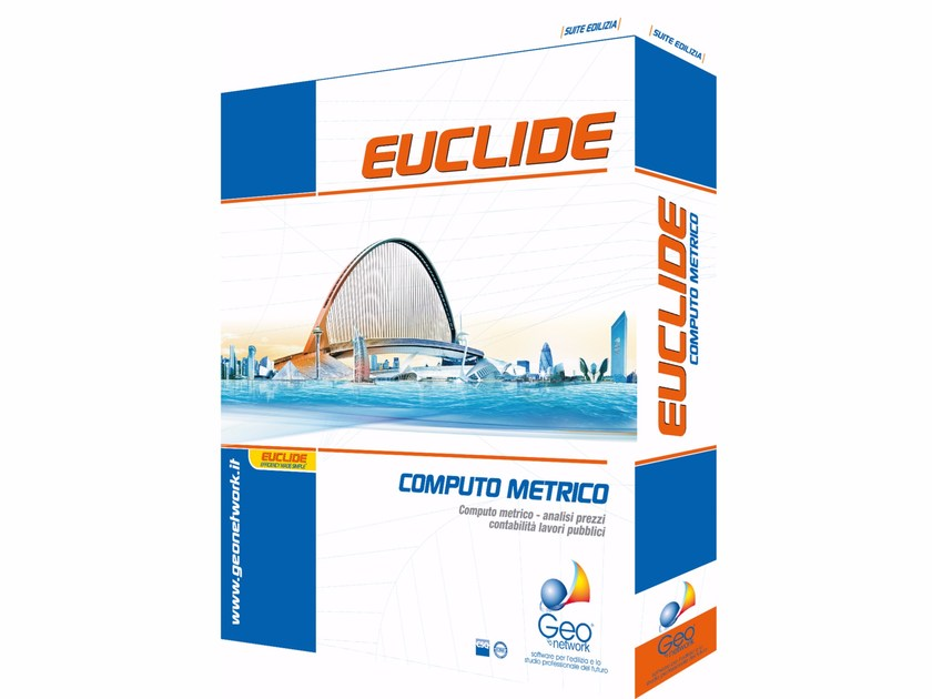 Quantity calculation and works accounting EUCLIDE COMPUTO LT by GEO NETWORK