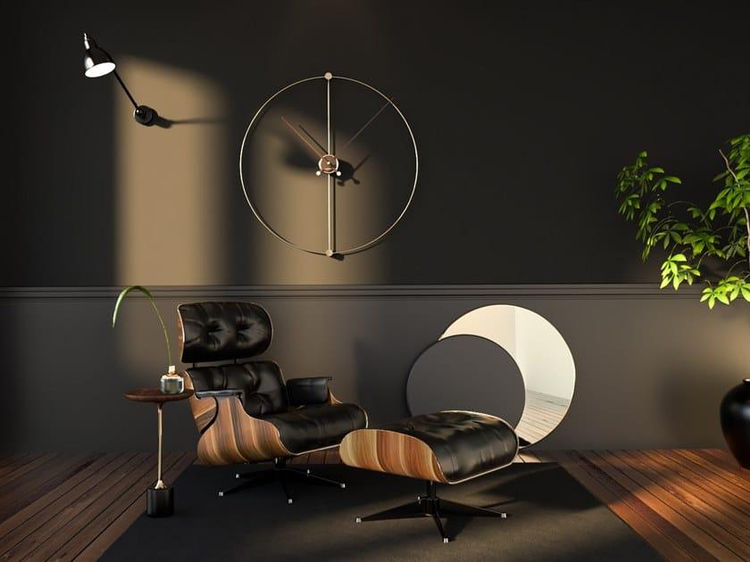 Orologio in metallo da parete EUCLIDEO 90 by Materium