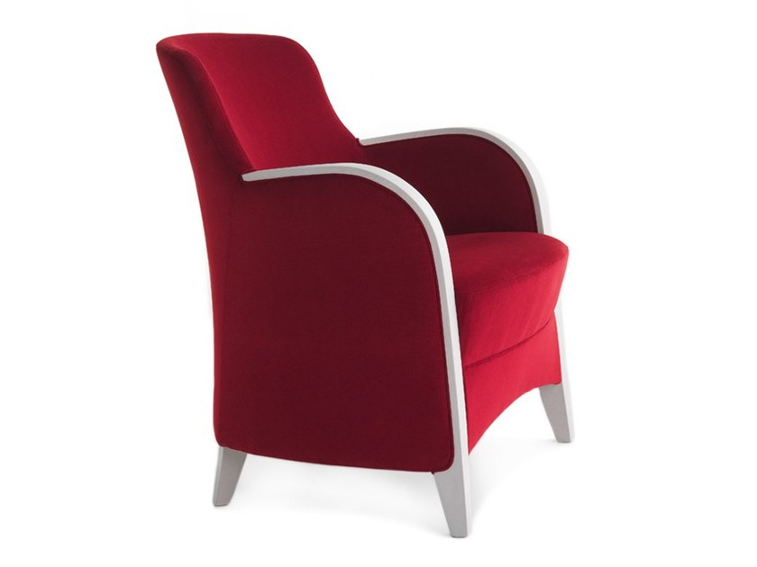 Easy chair with armrests EUFORIA 00142 by Montbel