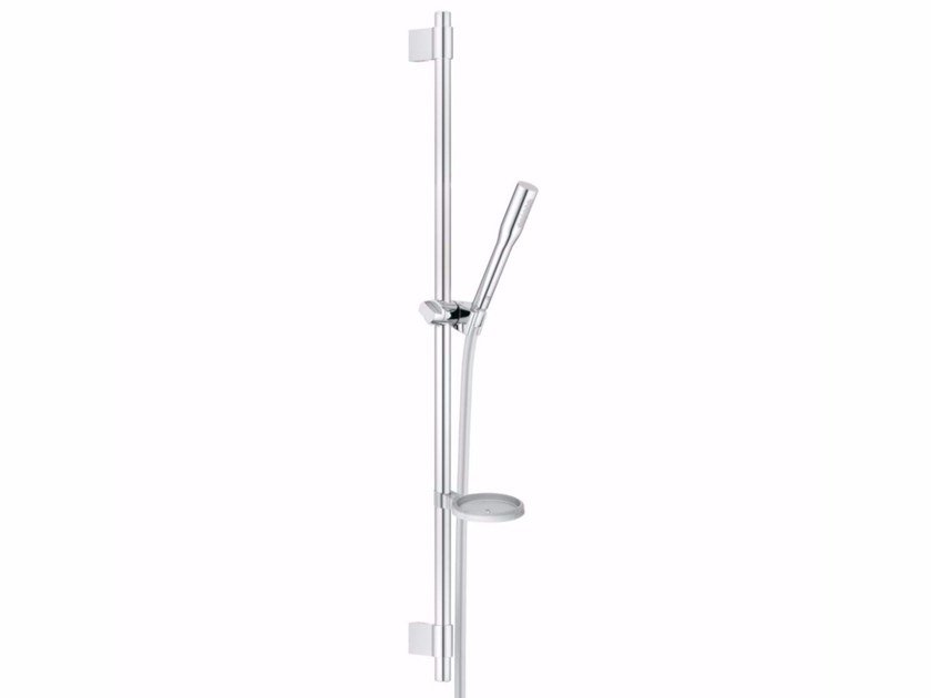Chrome-plated shower wallbar with hand shower EUPHORIA COSMOPOLITAN STICK   Shower wallbar by Grohe