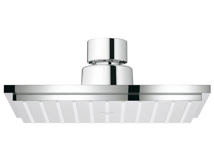 Soffione doccia cromato orientabile con getto fisso EUPHORIA CUBE 150 | Soffione doccia by Grohe