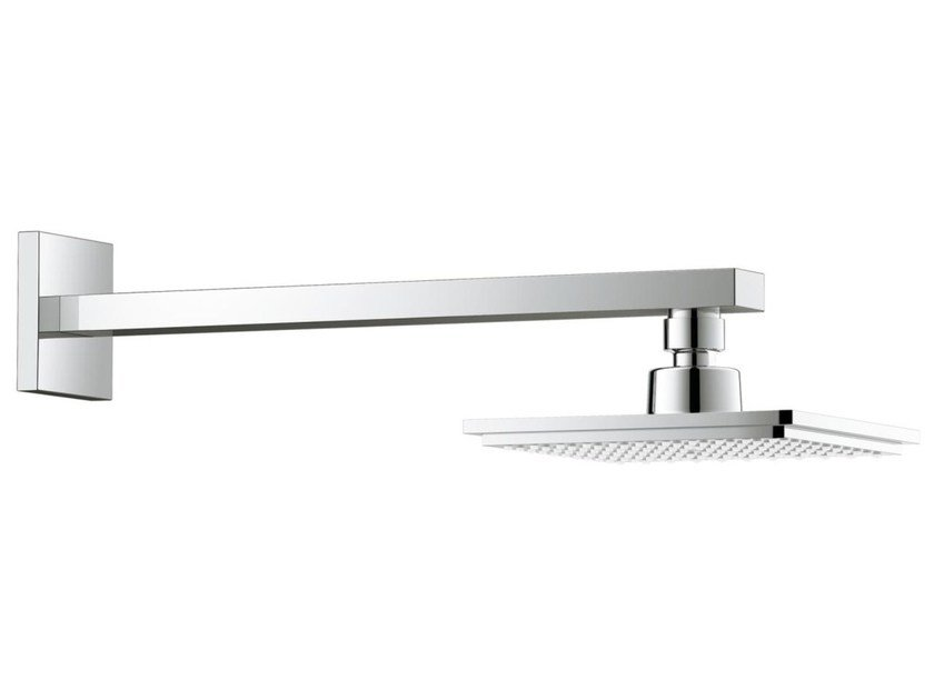 Wall-mounted adjustable 1-spray overhead shower EUPHORIA CUBE | Overhead shower with arm by Grohe
