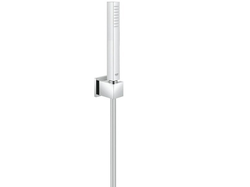 Chrome-plated handshower with hose EUPHORIA CUBE STICK by Grohe