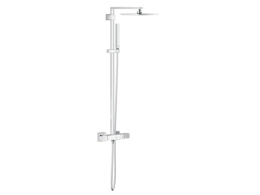 Colonna doccia a parete termostatica con soffione EUPHORIA CUBE XXL SYSTEM 230 | Colonna doccia termostatica by Grohe