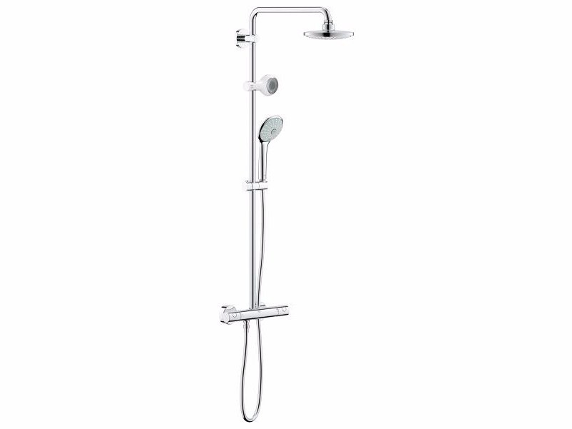 EUPHORIA SYSTEM 180 | Thermostatic shower panel By Grohe