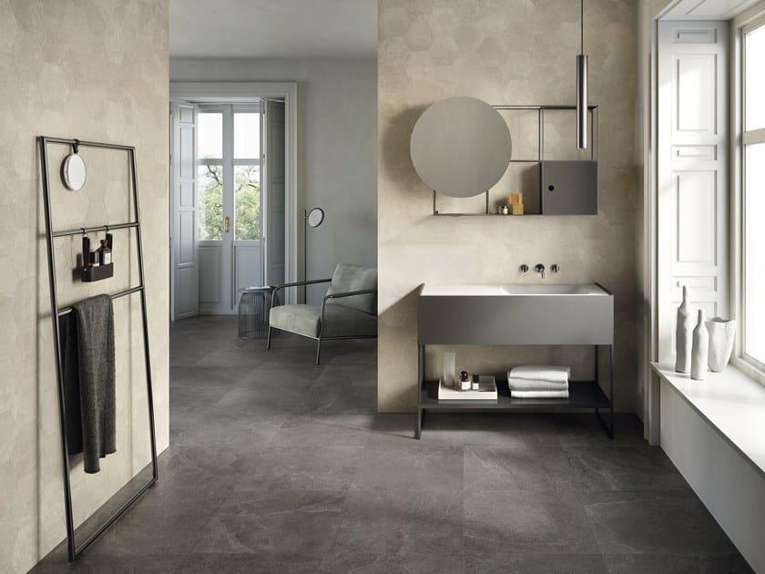 Porcelain stoneware wall/floor tiles EUREKA MOKA by Provenza by Emilgroup