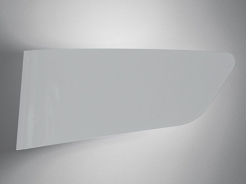 Direct-indirect light aluminium wall light EURIALO by Artemide