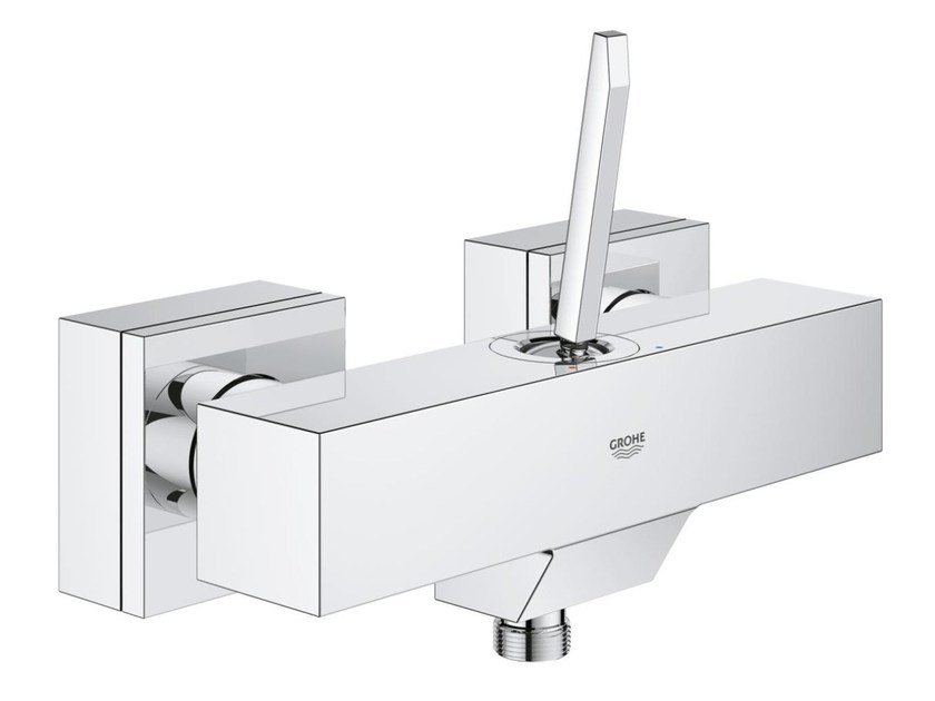 2 hole single handle shower mixer EUROCUBE JOY | Shower mixer by Grohe