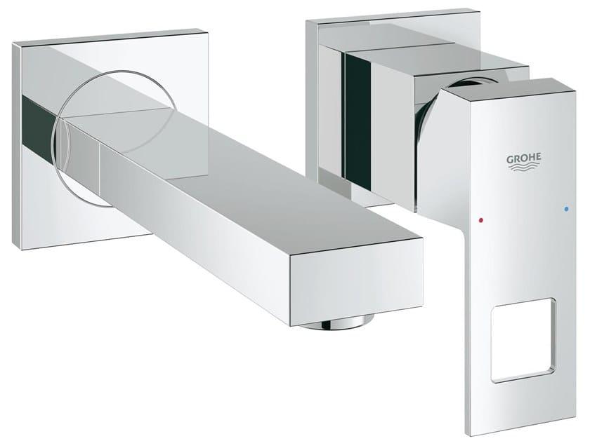 Miscelatore per lavabo a 2 fori a muro EUROCUBE SIZE S | Miscelatore per lavabo a 2 fori by Grohe
