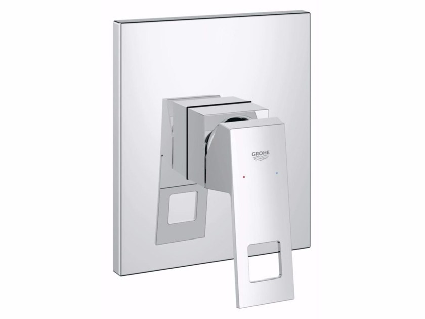 Single handle shower mixer EUROCUBE | Single handle shower mixer by Grohe