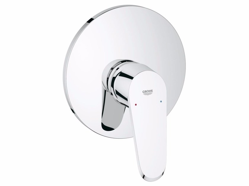 Single handle shower/bathub mixer with plate EURODISC COSMOPOLITAN | 1 hole shower mixer by Grohe
