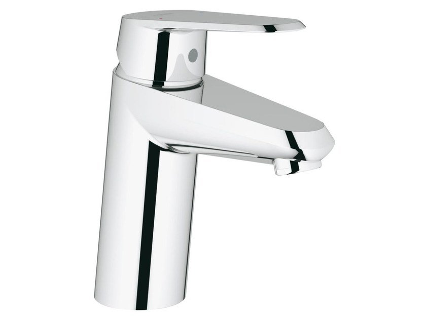 Countertop single handle washbasin mixer with temperature limiter EURODISC COSMOPOLITAN SIZE S | Washbasin mixer without waste by Grohe