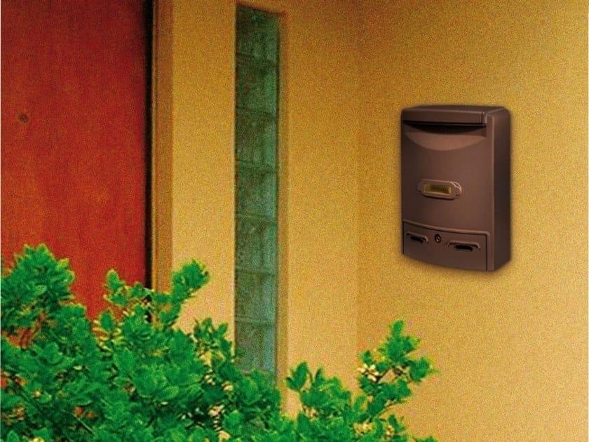 Outdoor die cast aluminium mailbox EUROPA by Alubox