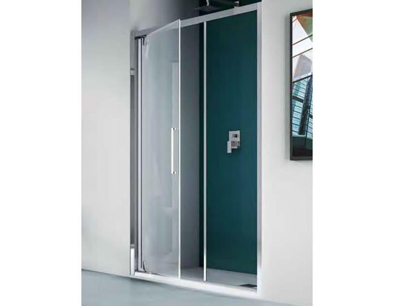 EUROPA   Box doccia con porta a battente