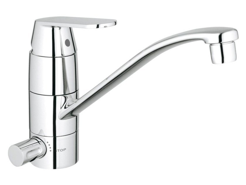 Countertop kitchen mixer tap with swivel spout EUROSMART COSMOPOLITAN | Kitchen mixer tap with dishwasher connection by Grohe