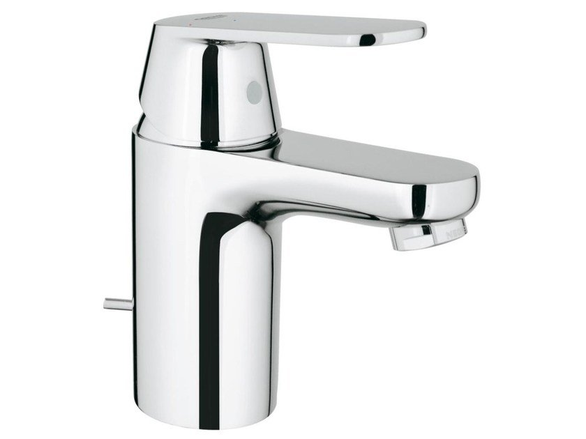 Countertop single handle washbasin mixer EUROSMART COSMOPOLITAN SIZE S | Washbasin mixer with pop up waste by Grohe