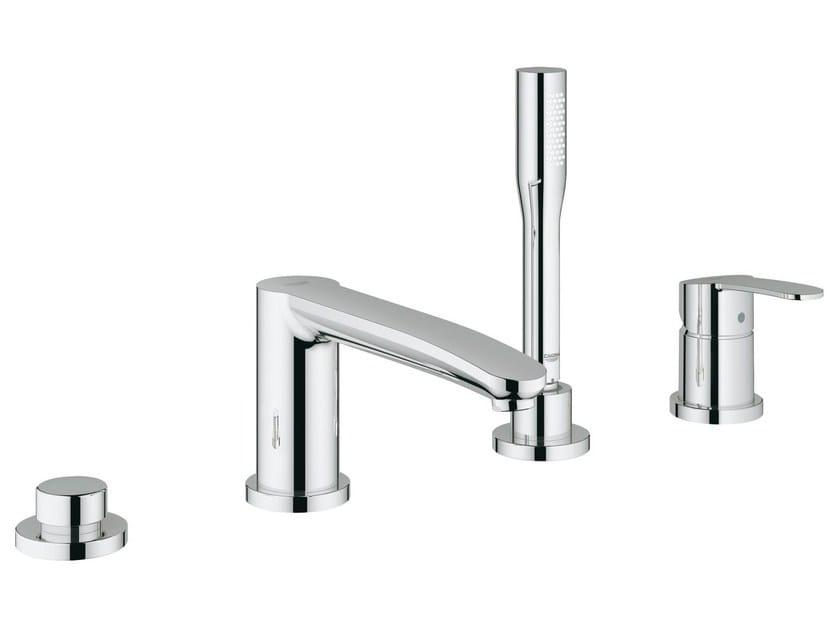 4 hole single handle bathtub set with hand shower EUROSTYLE COSMOPOLITAN | Bathtub set by Grohe